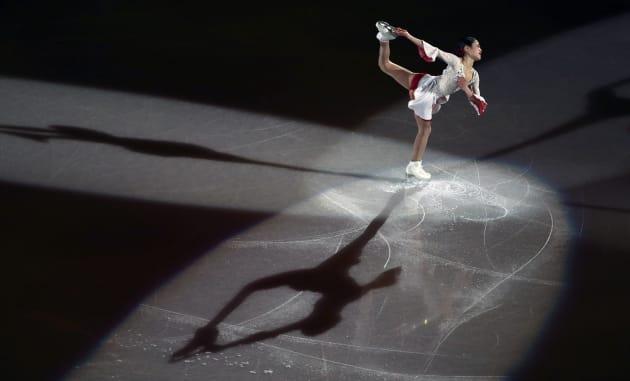 Figure Skating - Pyeongchang 2018 Winter Olympics - Gala Exhibition - Gangneung Ice Arena - Gangneung, South Korea - February 25, 2018 - Satoko Miyahara of Japan performs. REUTERS/Lucy Nicholson