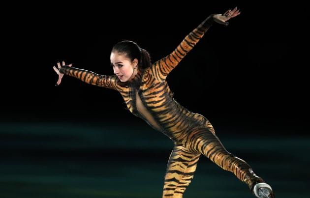 Figure Skating - Pyeongchang 2018 Winter Olympics - Gala Exhibition - Gangneung Ice Arena - Gangneung, South Korea - February 25, 2018 - Alina Zagitova, Olympic Athlete from Russia, performs. REUTERS/John Sibley
