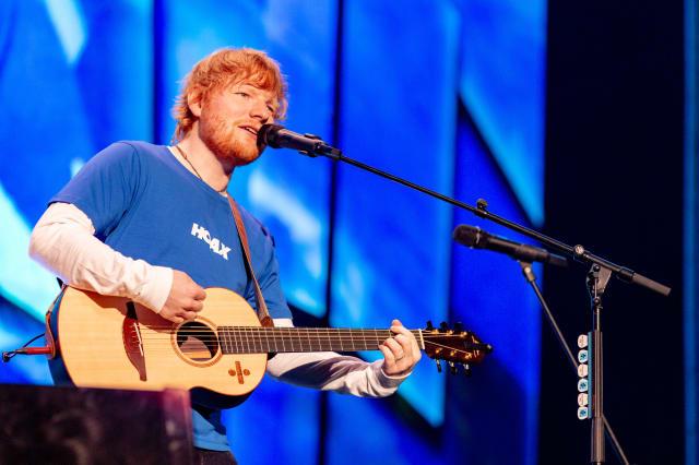 WI: Ed Sheeran in Concert