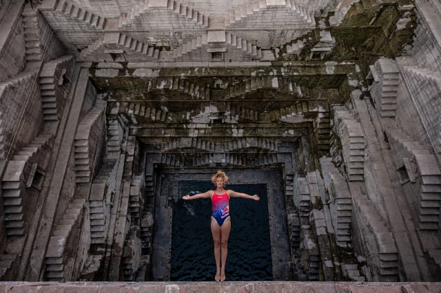 Red Bull Cliff Diving Project In Rajasthan