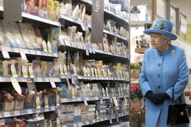 Royal visit to Poundbury