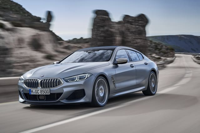 BMW 8 Series Gran Coupe brings four doors to firm's sleek luxury model