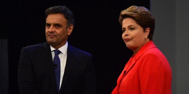 Candidatos ao Palácio do Planalto em 2014, Aécio Neves e Dilma Rousseff podem repetir disputa, desta vez, para o Senado por Minas Gerais.