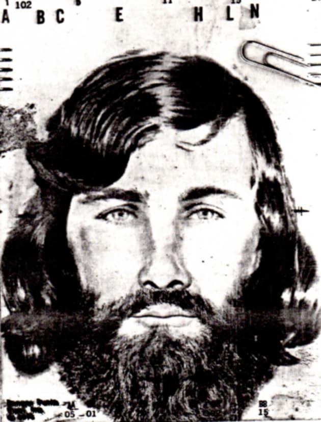 マイケル・ベア・カーソンの指名手配ポスター。