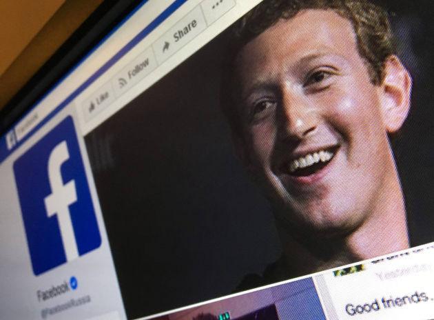 Una imagen de Mark Zuckerberg, fundador de Facebook.