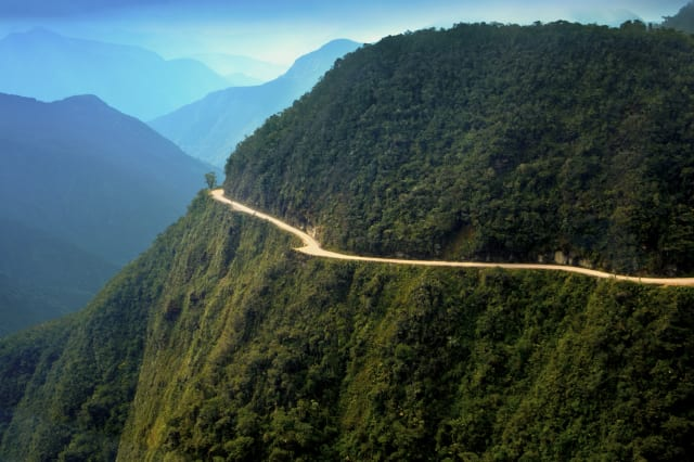 World's most dangerous road, Bolivia