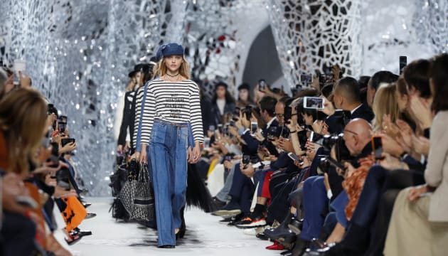 Dior 2018年春夏コレクションのファッションショー