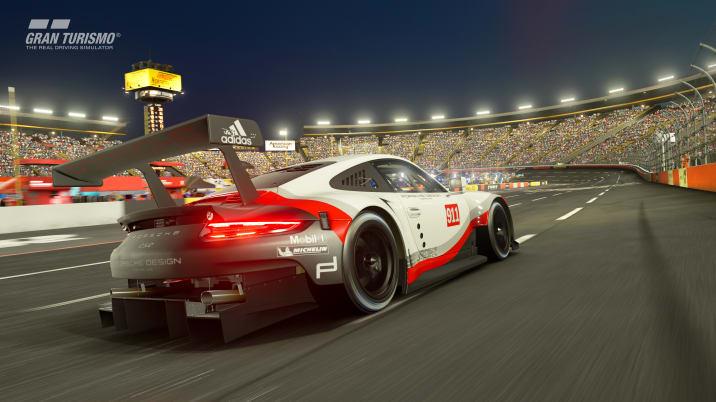 Porsche 911 RSR in Gran Turismo Sport