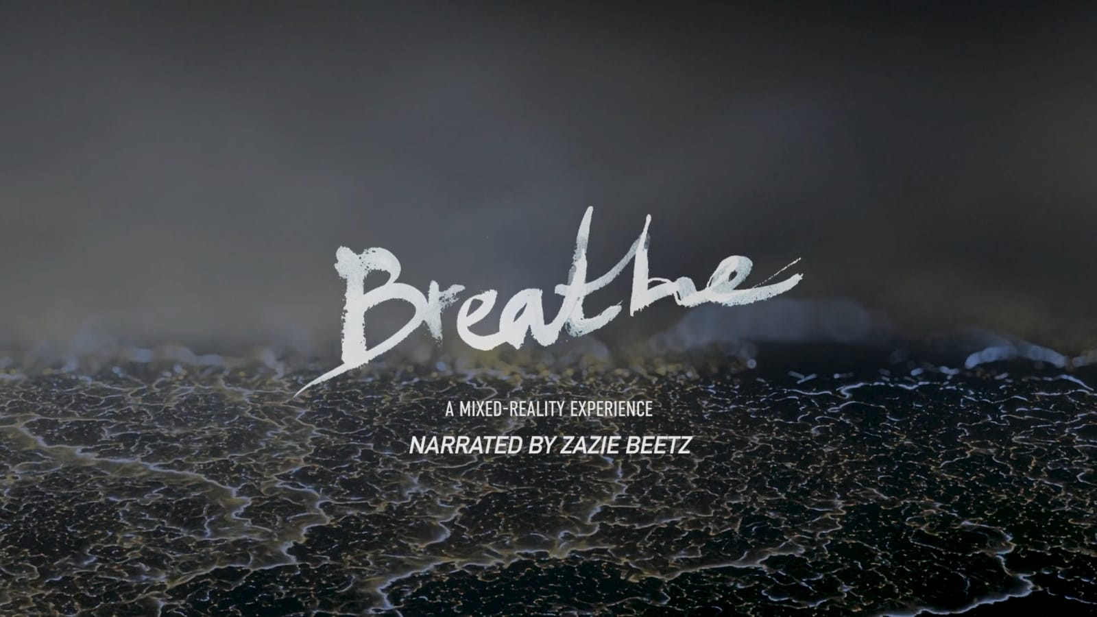 A breath-sensing AR project helps visualize your impact on the world