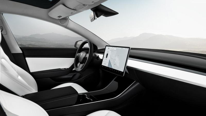 Tesla interiors
