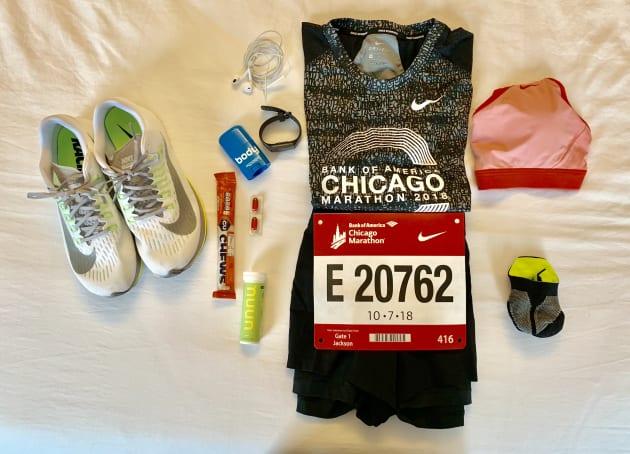 Kit para correr el maratón