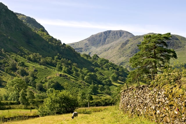 Great Gable is a mountain lying at the very heart of the...