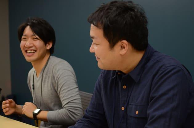 向井さん(右)と加藤さん