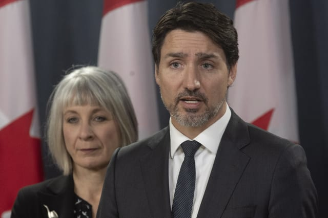 Canadian PM Trudeau self-isolating as wife tested for Covid-19 on return from UK