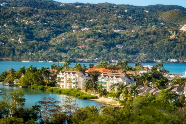 Sunny Day in Montego Bay, Jamaica