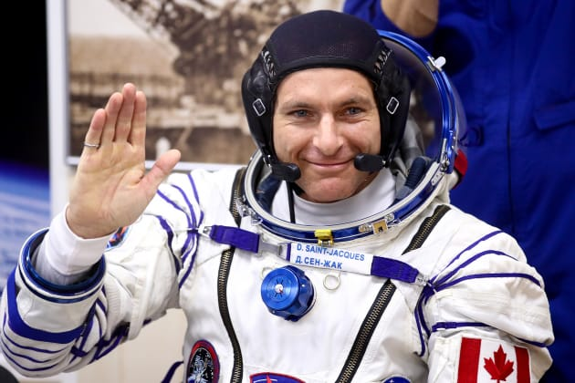 Canadian Space Agency astronaut David Saint-Jacques launch International Space Station Baikonur Cosmodrome Kazakhstan