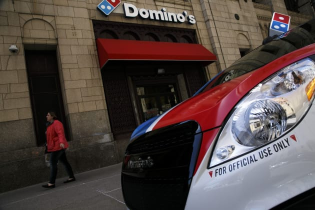 Driverless Pizza Delivery Is Being Tested Out At Domino's