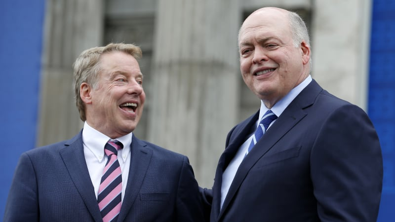 Ford Motor Co. Chairman Bill Ford And CEO Jim Hackett Announce Michigan Central Station Plans