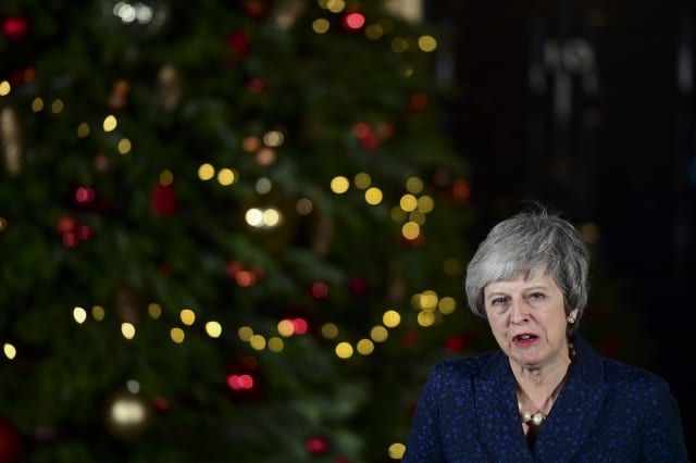 U.K. PM Theresa May To Face Tory Confidence Vote Today On Her Leadership