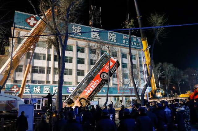 CHINA-ACCIDENT