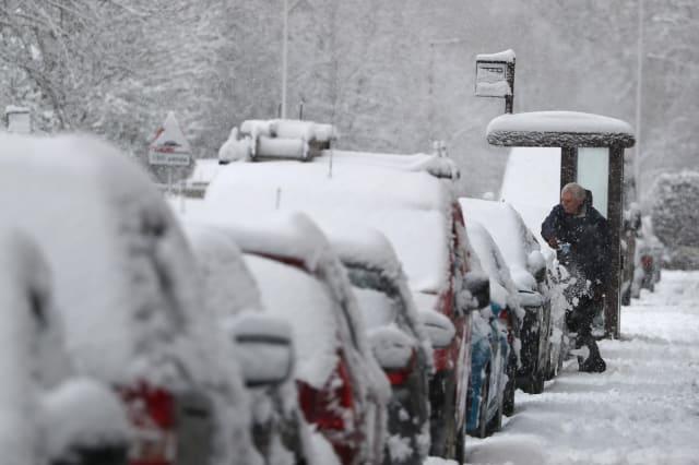 Winter weather Jan 14th 2021