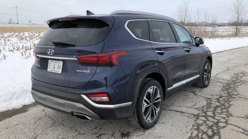 Hyundai Santa Fe quick spin
