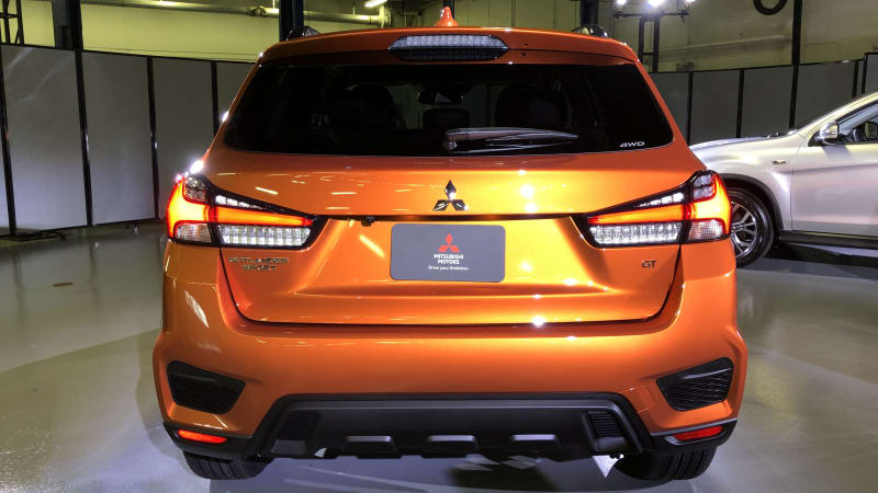 2020 Mitsubishi Outlander Sport Review, Specs >> 2020 Mitsubishi Outlander Sport Revealed In America Drops Manual