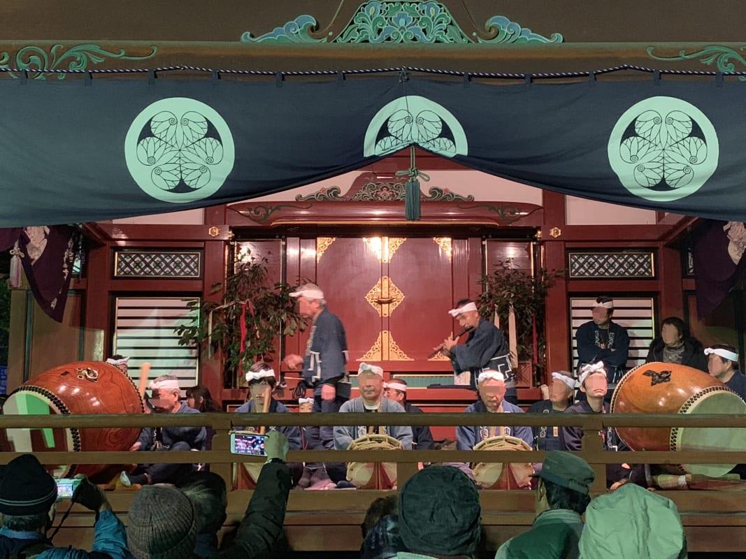 秩父神社で行われていた神代神楽泰奏