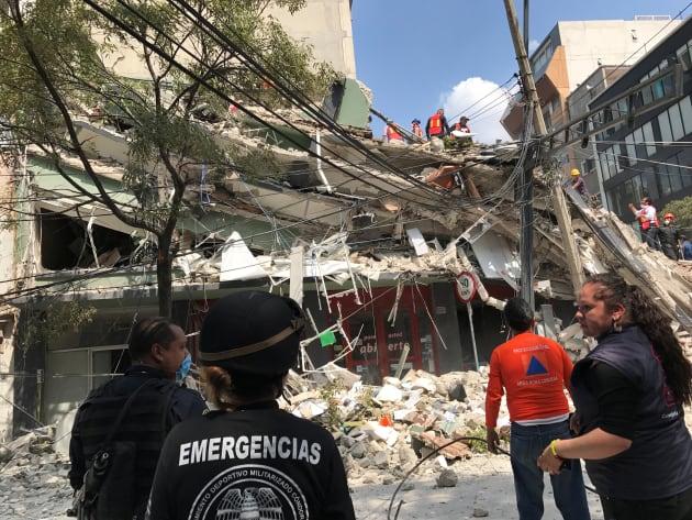 Mexico September 19, 2017. REUTERS/Claudia Daut