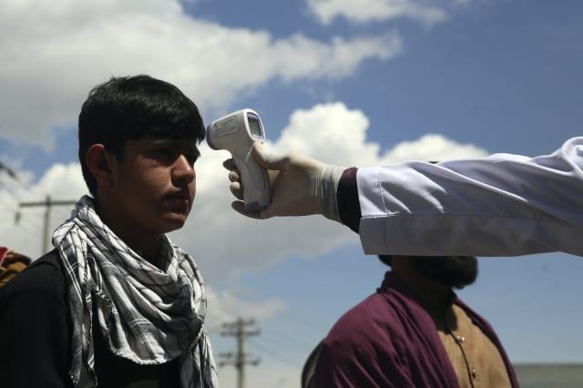 Random Covid-19 tests in Afghanistan find third of people have virus