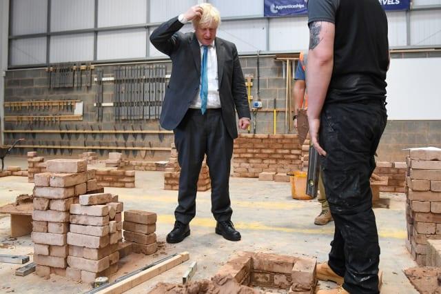 Boris Johnson visits East Devon