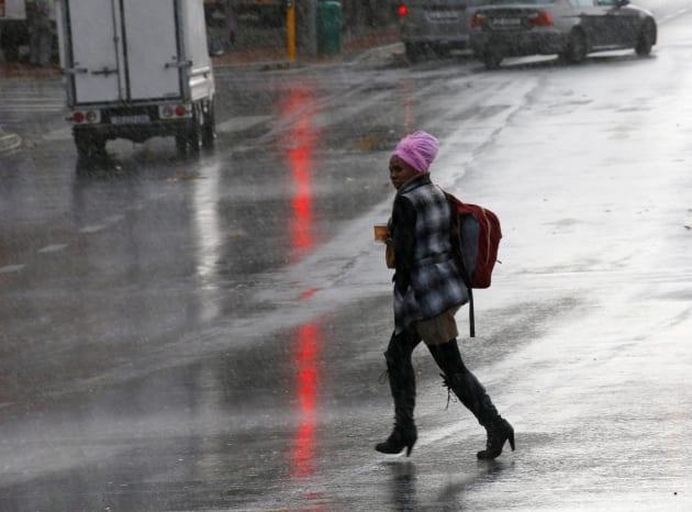 rain in cape town