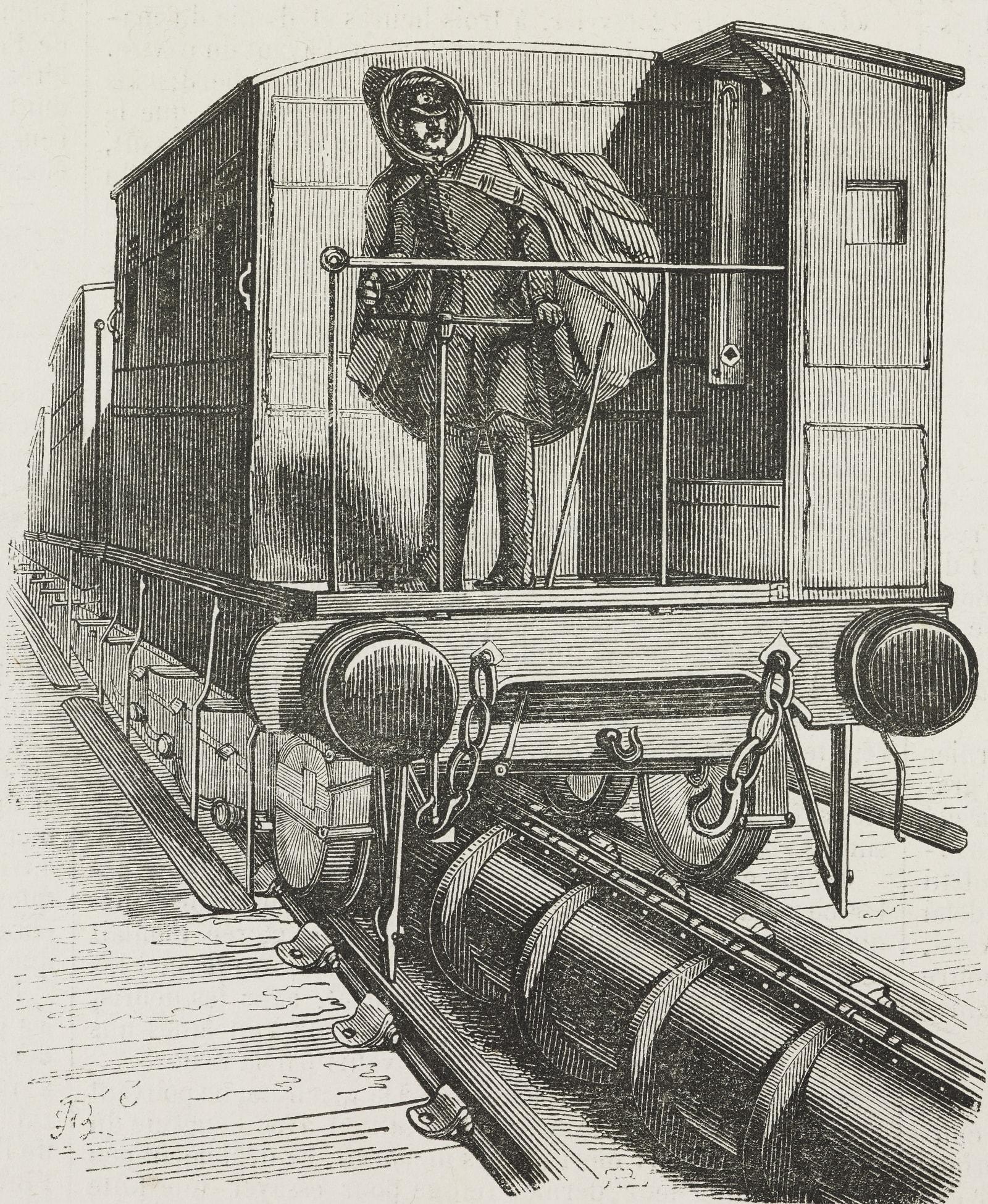 Convoy on the Saint-Germain atmospheric railway