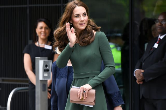 The Duchess of Cambridge visits Anna Freud Centre