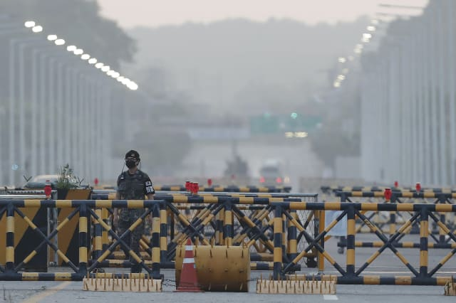 North Korea says it is sending soldiers to joint border sites