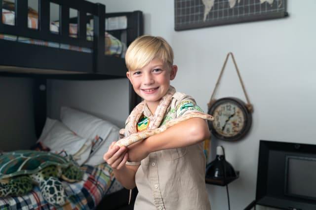 CRIKEY! 10-Year-Old Reptile Fan Bitten By Pet Snake