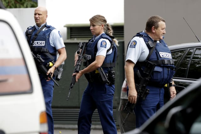 Man charged with murder after 49 killed in Christchurch mosque shootings