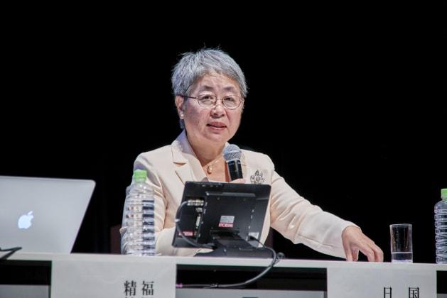 2018年9月の日本財団主催シンポジウム「全ての子に愛ある家庭を」で登壇する奥山先生