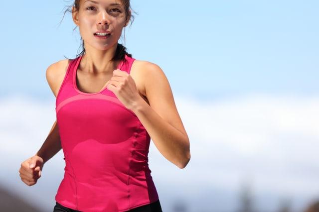 runner   woman running outdoors ...