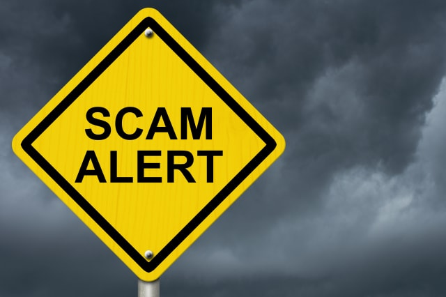 Seven signs you're being scammed
