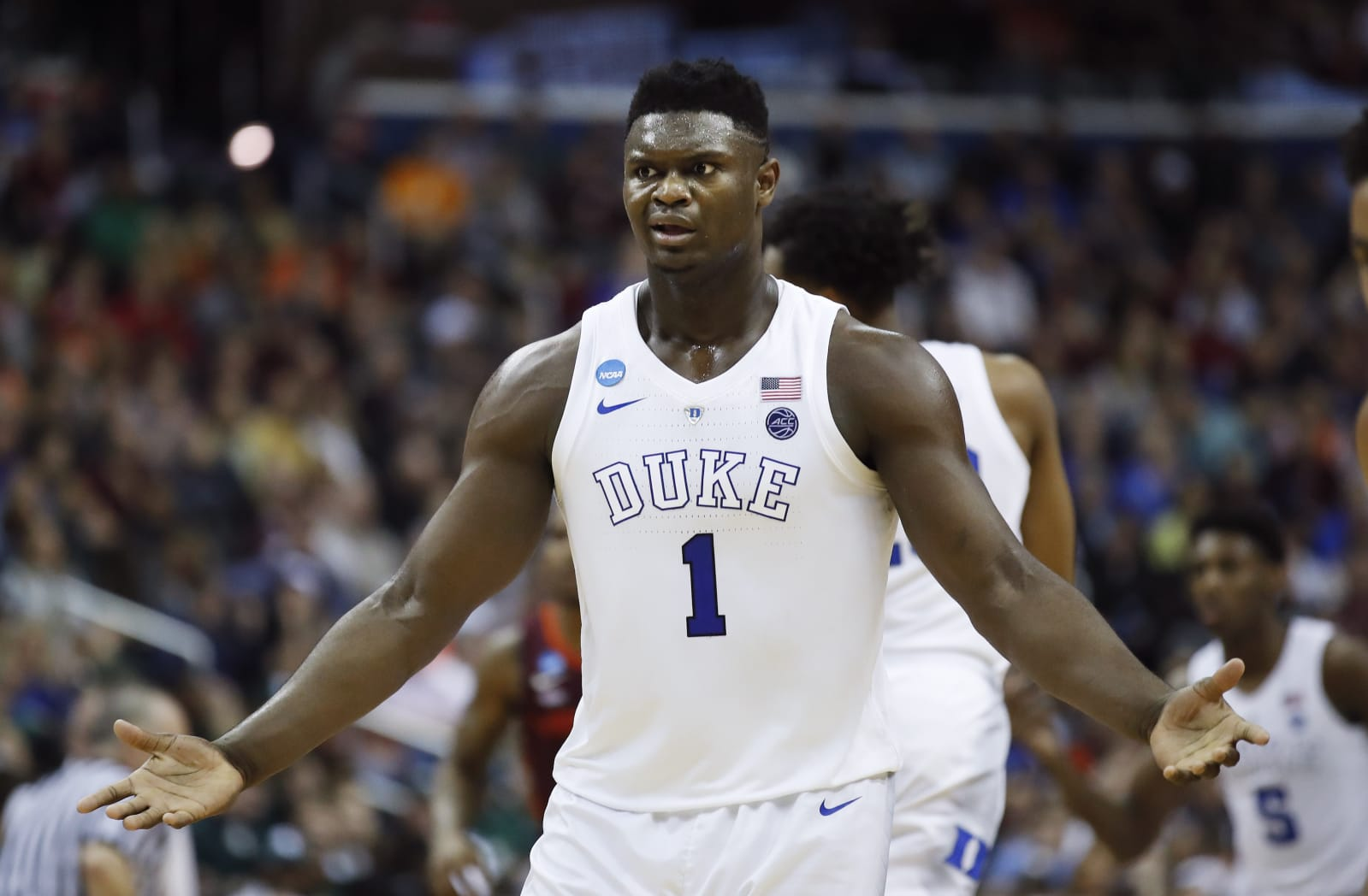 NCAA Virginia Tech Duke Basketball