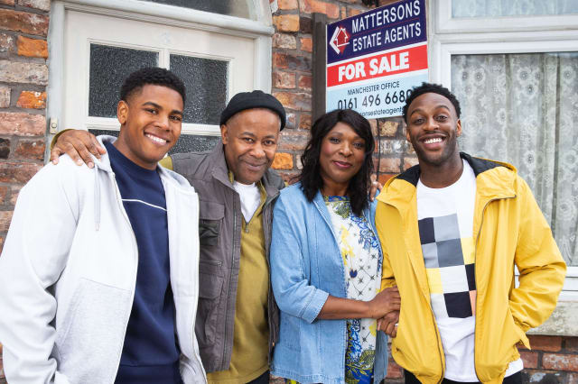 The Baileys to be first black family introduced on Coronation Street