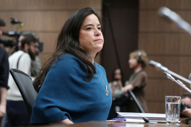 Jody Wilson-Raybould arrives to testify before the House of Commons justice committee on Parliament Hill in Ottawa.
