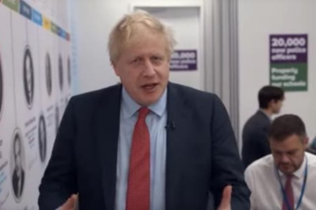 Hold your nose - Boris Johnson is trying to meme himself