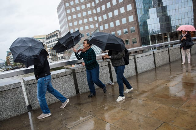 Windy And Wet Weather Arrives In The UK