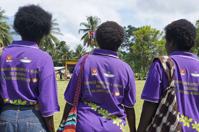 Bougainville residents to vote on becoming world's newest nation