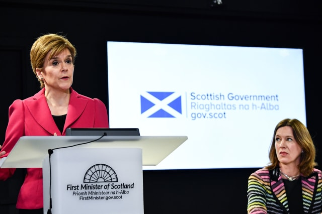Scotland's chief medical officer wrong to visit second home - Nicola Sturgeon