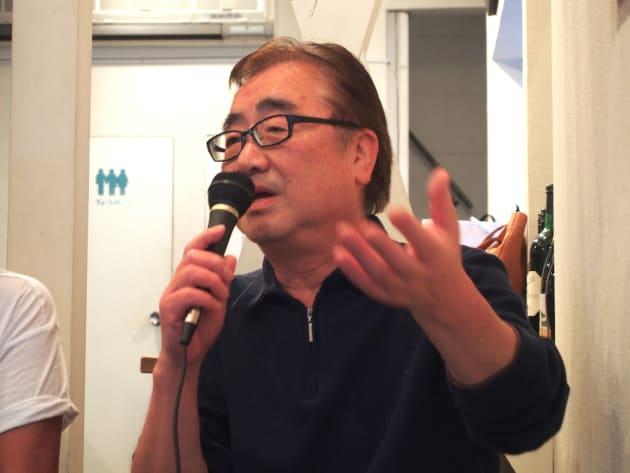 神宮前二丁目商和会会長の佐藤正記さん