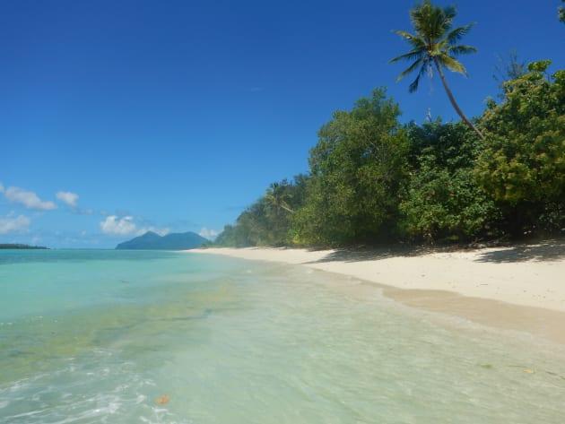 綺麗な海とビーチはバヌアツの誇る豊かな自然の象徴です