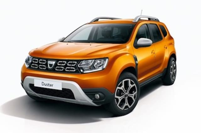 new dacia duster makes frankfurt debut with updated. Black Bedroom Furniture Sets. Home Design Ideas